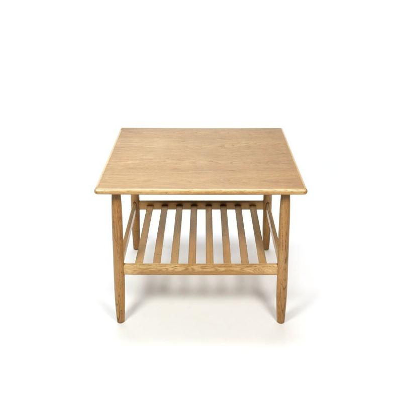 Danish side table in oak