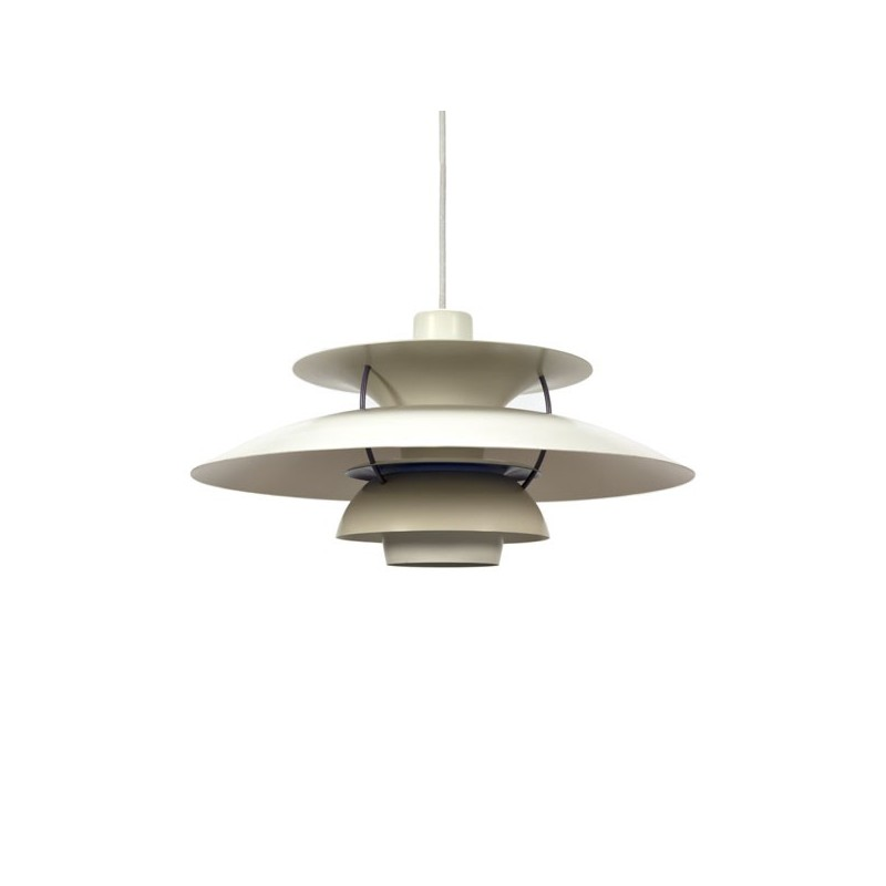 White PH 5 design Poul Henningsen