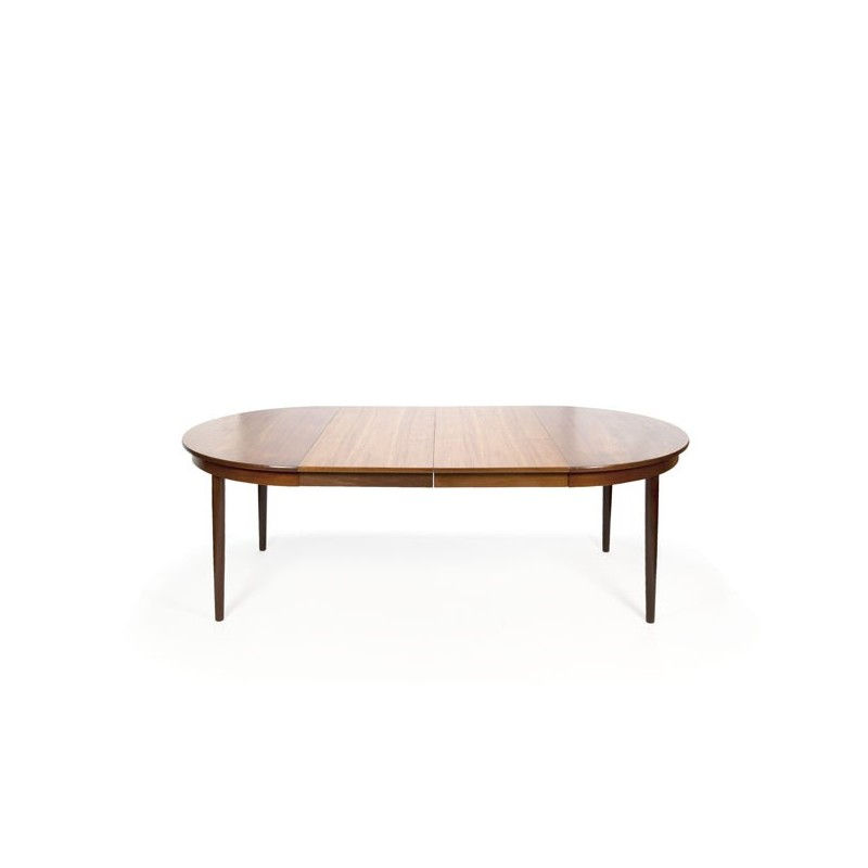 Large oval teak dining table Frem Røjle