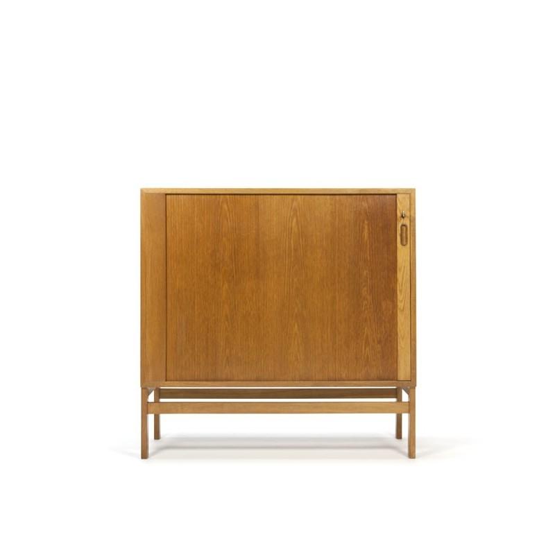 filing cabinet with tambour door