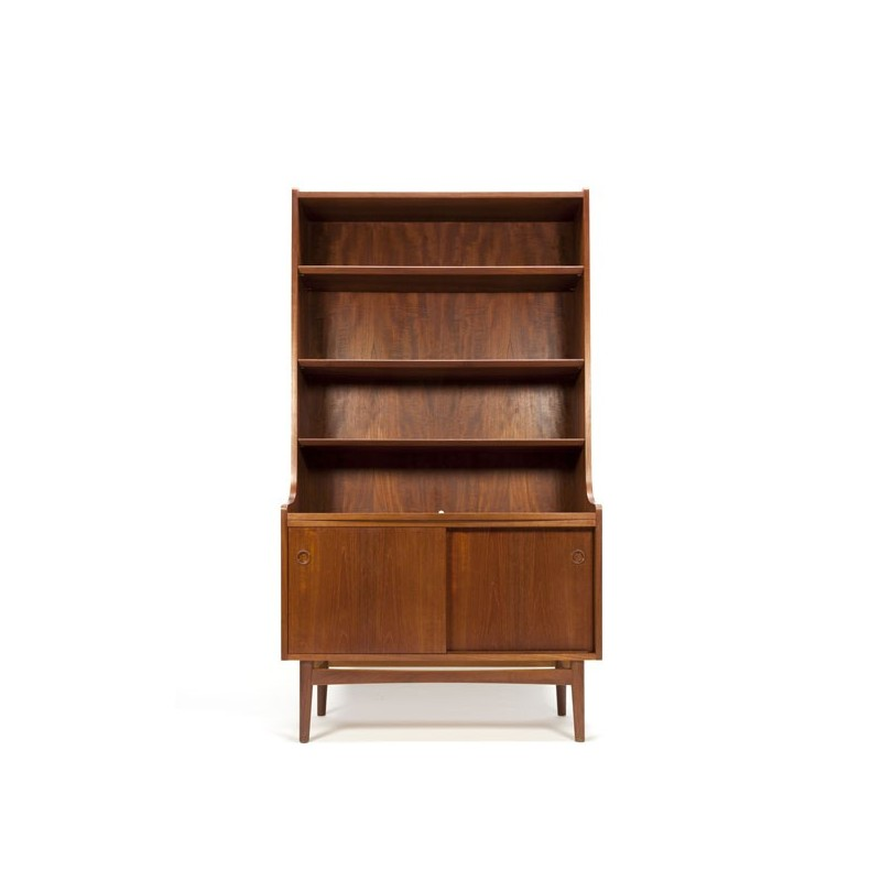 Danish bookcase in teak