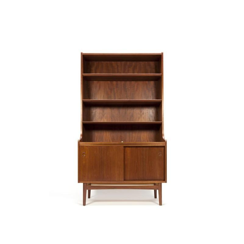 Deense boekenkast in teakhout
