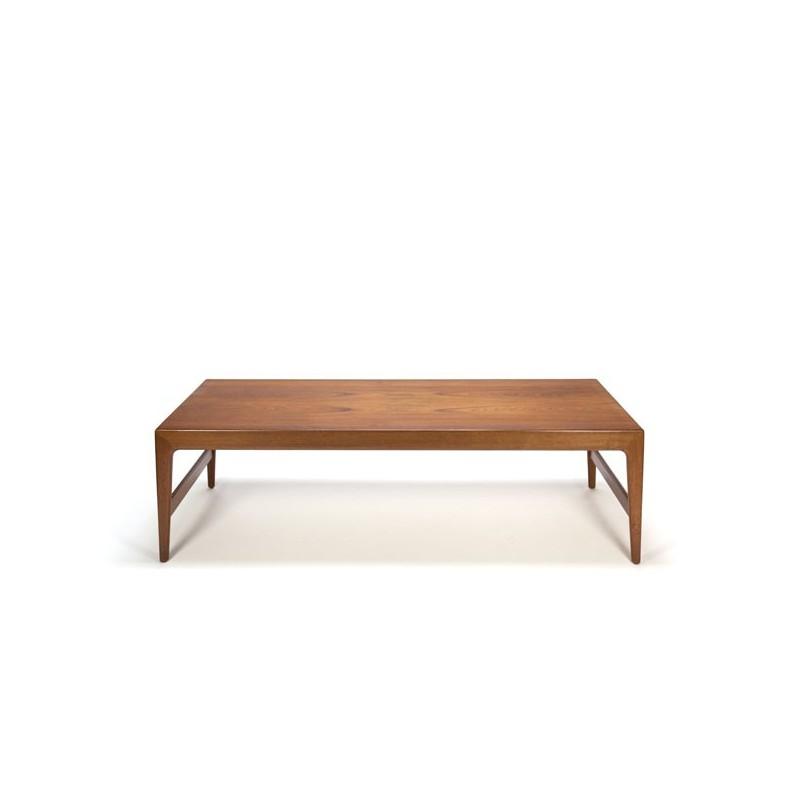 Extra large Danish coffee table in teak