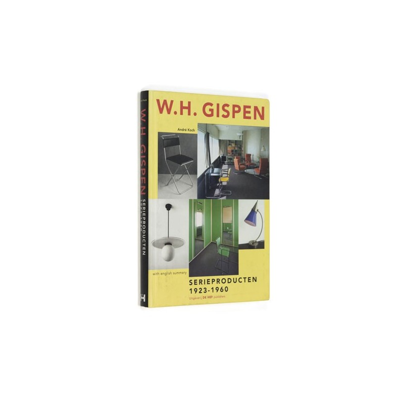 Dutch book W.H. Gispen Serieproducten 1923-1960
