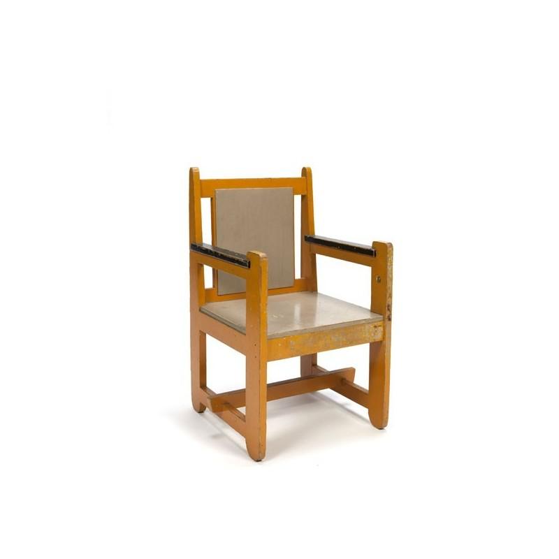 Wooden children chair 1930s