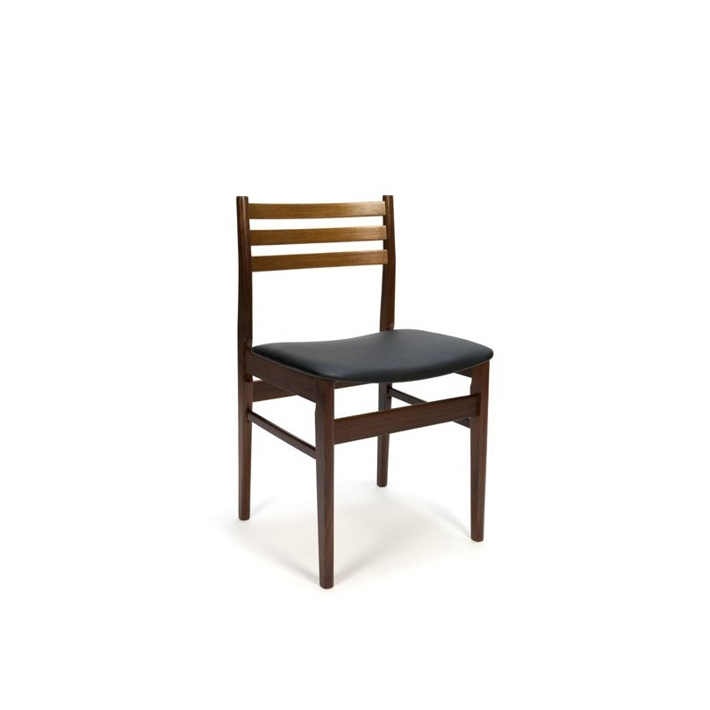 Set van 8 Deense eettafel stoelen