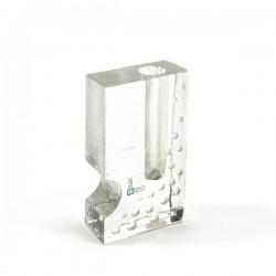 Klein glazen vaasje Duits design