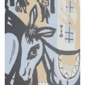 Zeefdruk van W. Hoogeveen uit 1955