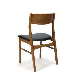 Deense eettafel stoelen set van 6