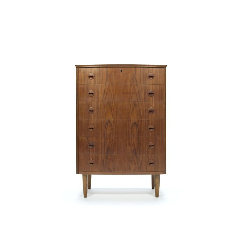 Danish teak dresser from the sixties