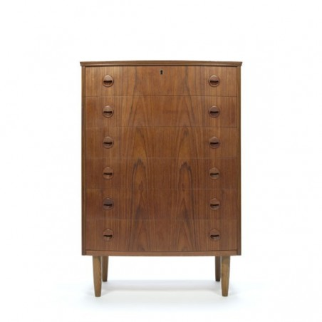 Danish teak dresser from the sixties