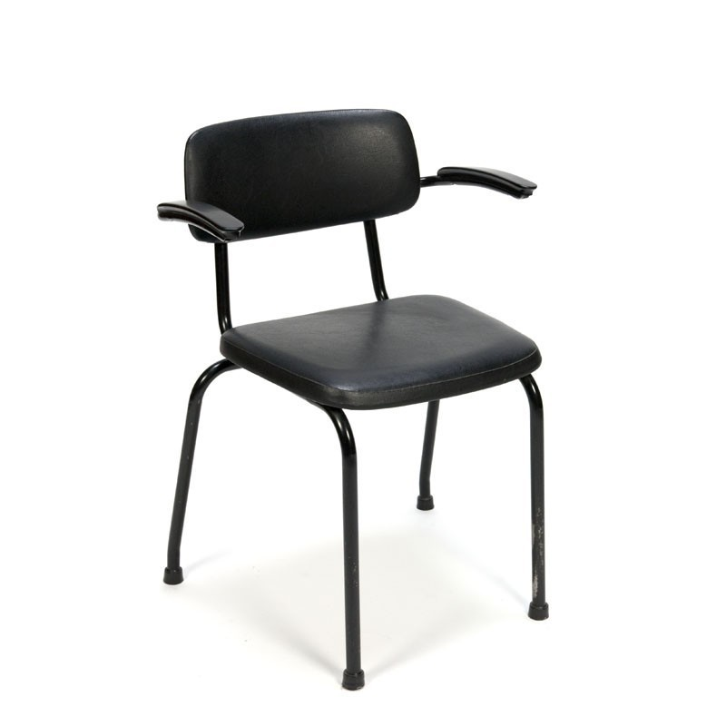 Ahrend chair from the sixties with armrest