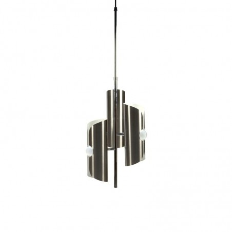 Gebogen metalen hanglamp