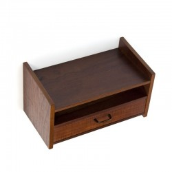 Small wall cabinet in teak