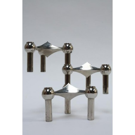 Stackable candleholders by Mr. Nagel set of 3