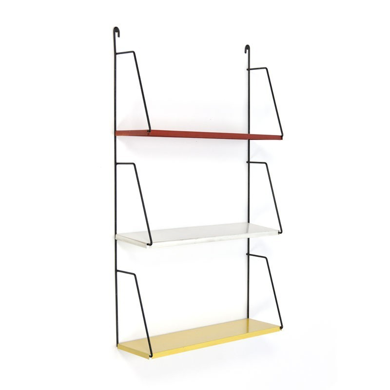 Small metal wall rack