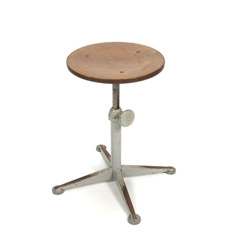Friso Kramer industrial stool