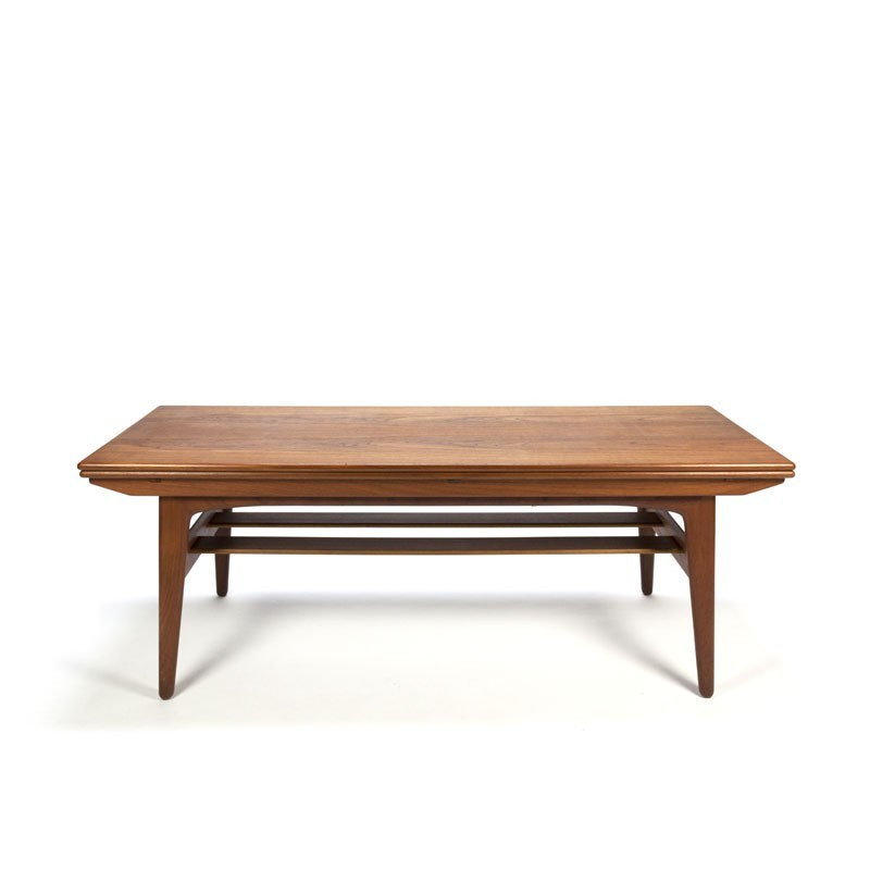 danish design coffee table and dining together