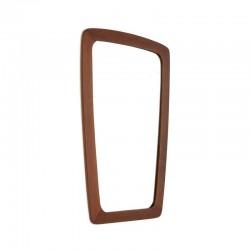 Teak Danish design mirror
