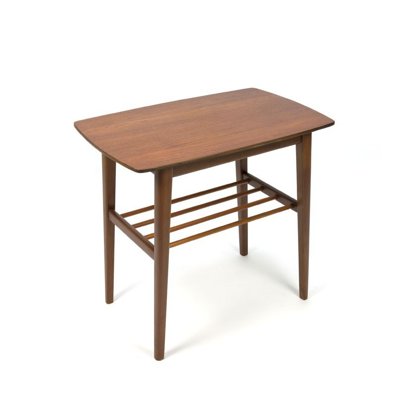 Danish Side table with teak top