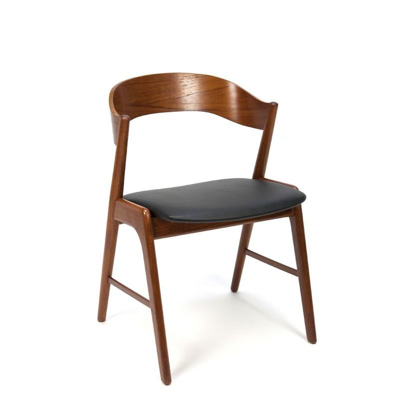 Bureau of eettafelstoel ontwerp Kai Kristiansen