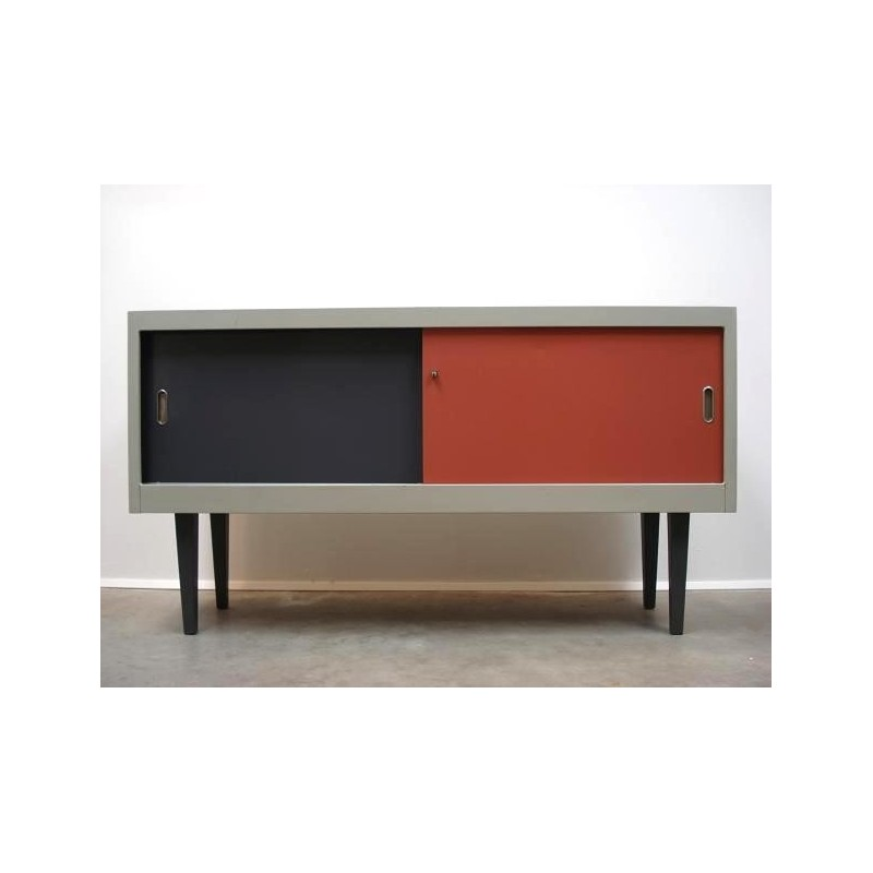 Industrial metal sideboard