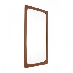 Danish teak mirror from the sixties
