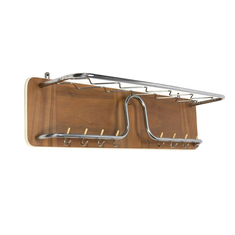 Wall coat rack from the sixties