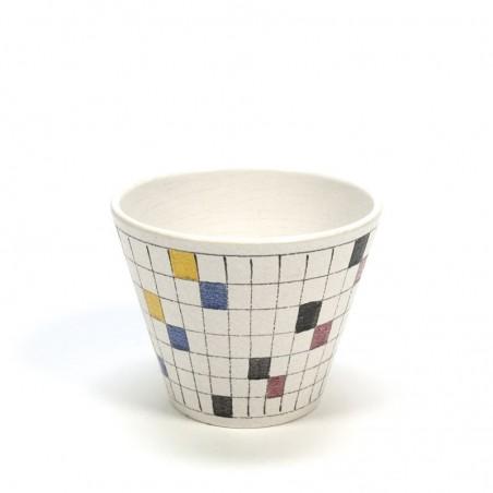 Checkered flowerpot ADCO