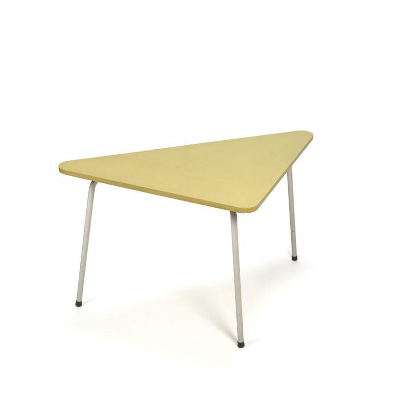 Jaren vijftig driehoek tafeltje groen