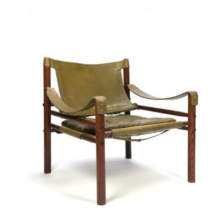 Arne Norell Sirocco Safari fauteuil