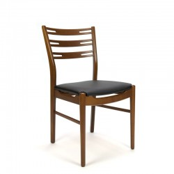 Set of 4 chairs in teak by Farstrup