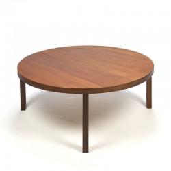 Deense Teakhouten salontafel rond