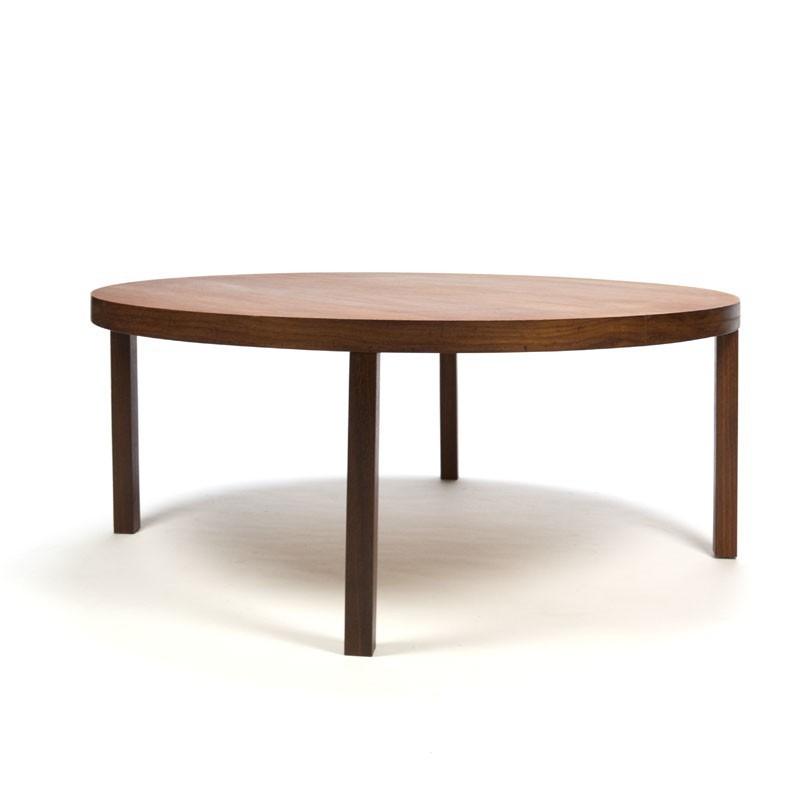 Danish Teak coffee table round - Retro Studio