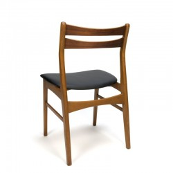 Set van 4 Deense teakhouten stoelen merk Faldsled