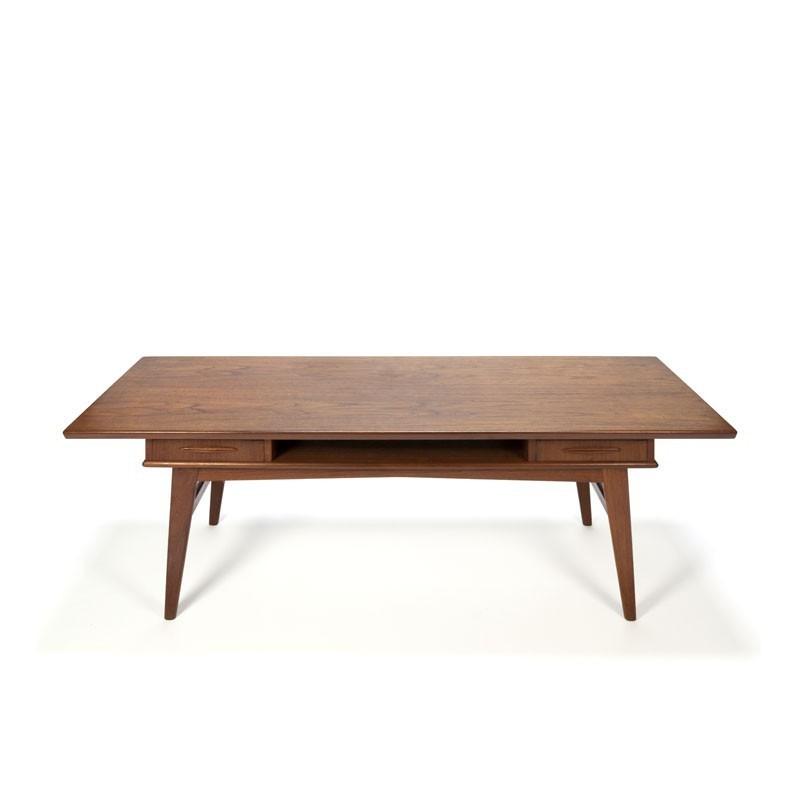 Deense salontafel met lades