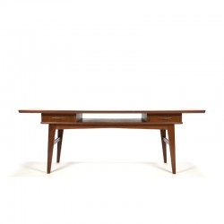 Danish coffee table with drawers