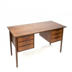 Danish design desk in teak