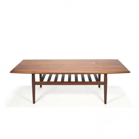 Teakhouten salontafel ontwerp van Grete Jalk
