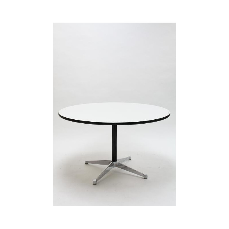 Eames segmented table by Herman Miller