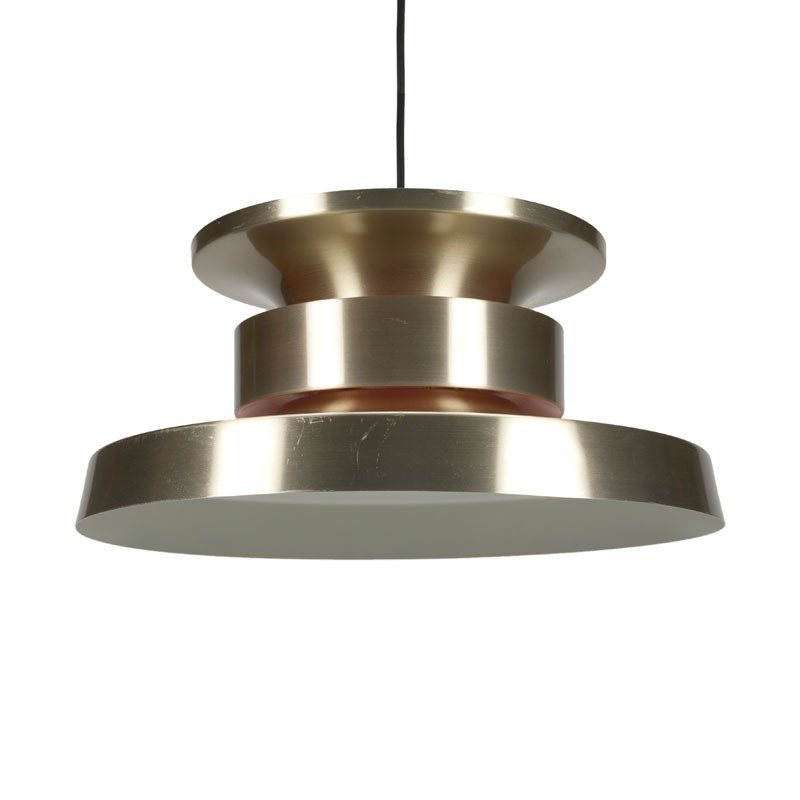 Danish brass hanging light