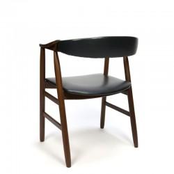 Teak desk chair by Farstrup