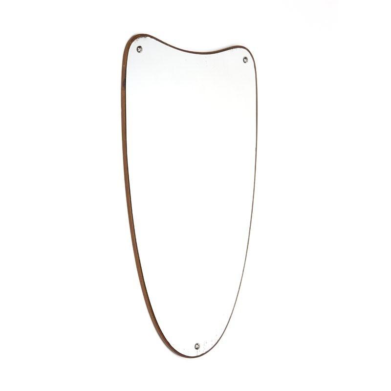 Organisch gevormde Deense spiegel