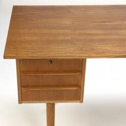Vintage Danish desk in teak