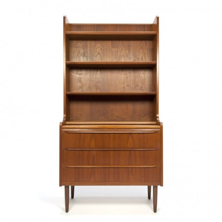 Hoog model vintage secretaire
