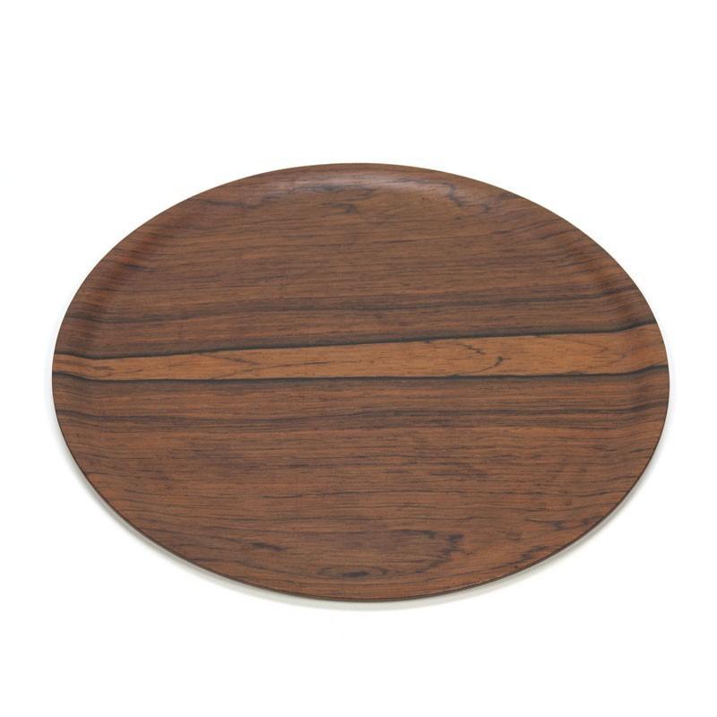 Deens dienblad van palissanderhout