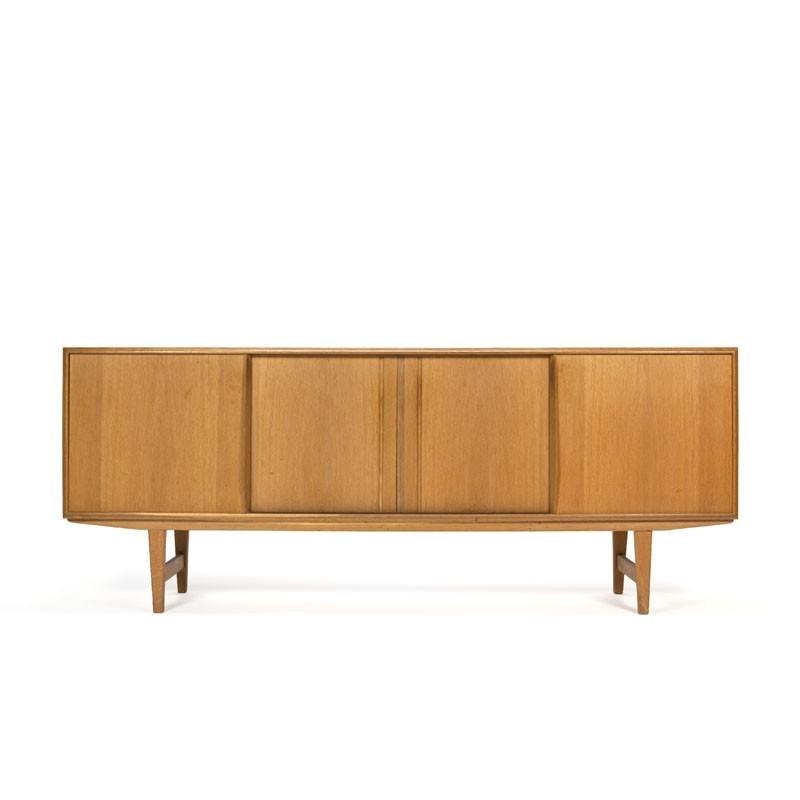 Danish oak sideboard design E.W. Bach