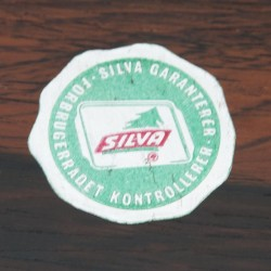 Vintage Silva tray in rosewood