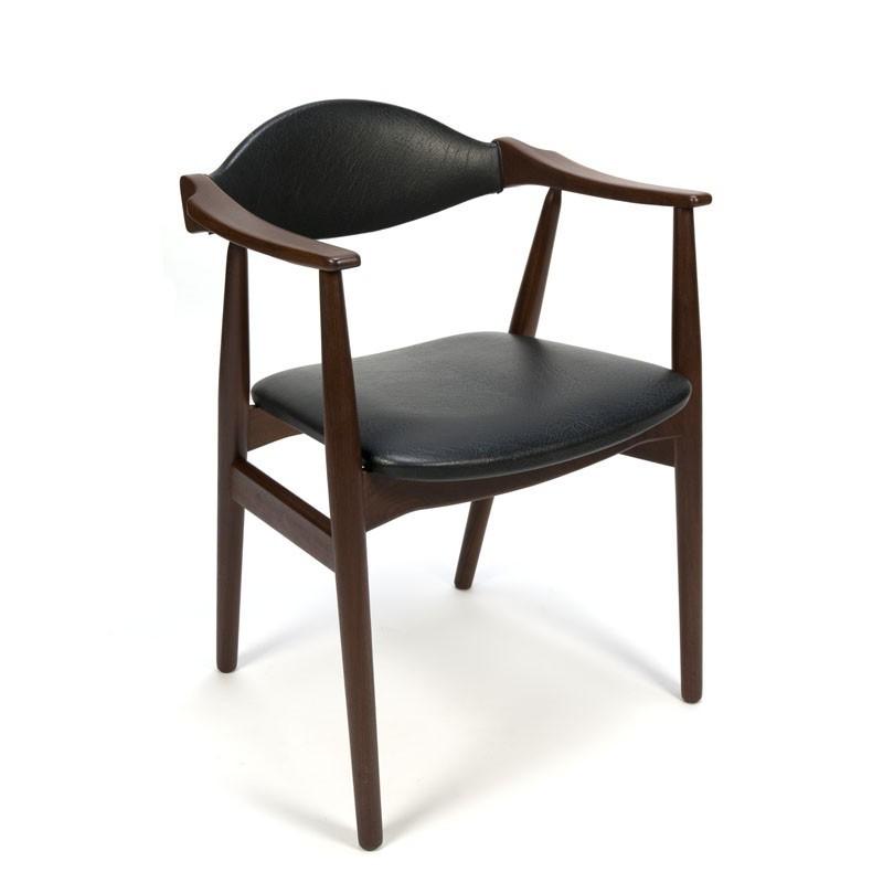 Deense vintage bureaustoel van Farstrup