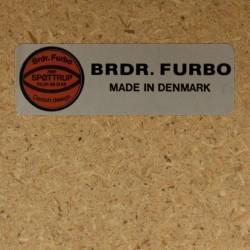 Deense teakhouten eettafel Brdr. Furbo